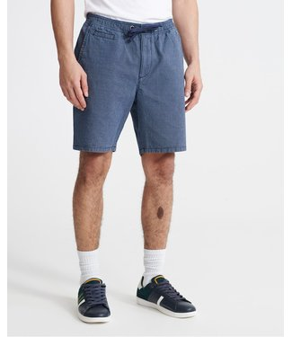 Superdry Sunscorched chino shorts donkerblauw M7110017A