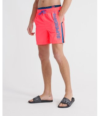 Superdry State volley swim short oranje M3010010A
