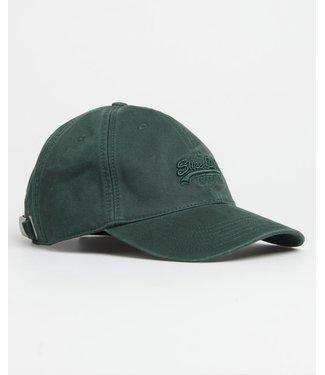Superdry Orange label cap groen M9010006A