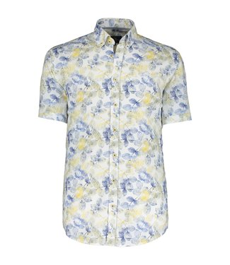 State of Art Shirt  Printed Poplin wit 264-10406-1121