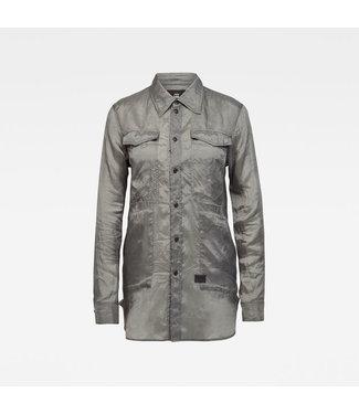 G-Star Utility straight shirt grijs D17091-C292-8166