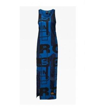 G-Star Lyker ao dress blauw D17183-C340-B700