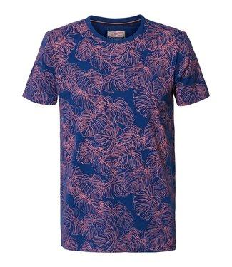 Petrol Industries T-shirt r-neck blauw M-2000-TSR729