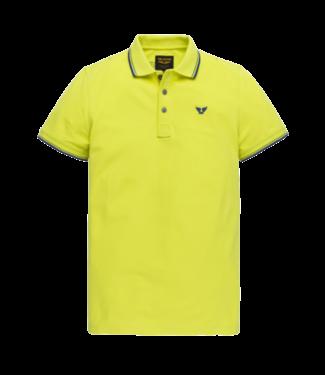 PME Legend Short sleeve polo stretch pique Limeade PPSS204883