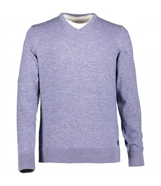 State of Art Pullover V-Neck Plai violet 12110192