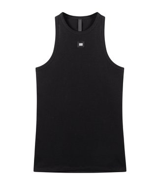 10Days Tank top rib zwart 20-455-0203