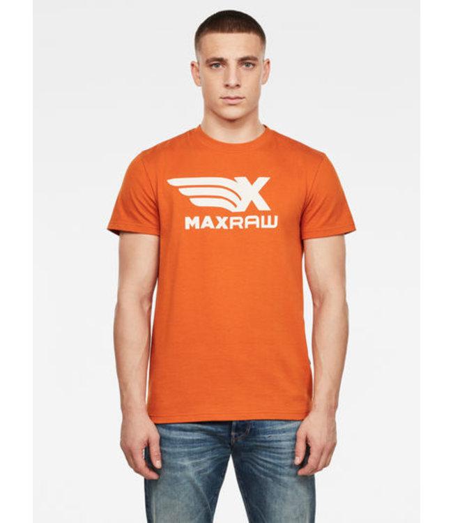G-Star Max graphic rt s/s oranje D18690-B962-6370