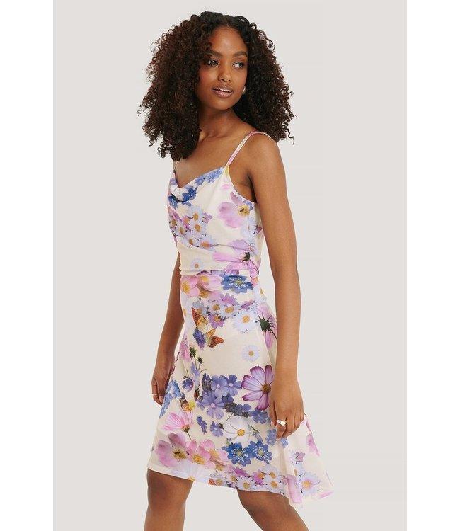 NA-KD Flowy mini dress wit 1018-005270