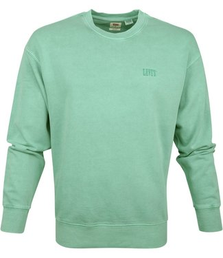 Levi's Authentic logo crewneck groen 85531-0004