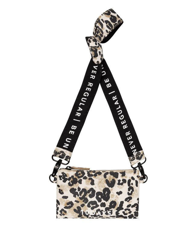 10Days Mini pouch leopard off white 20-957-0203