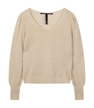 10Days Sweater lurex geel 20-604-0203
