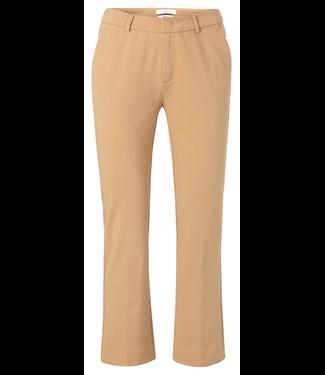 Yaya 7/8 length kick flare trousers SAND 121163-021