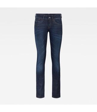 G-Star Lynn Mid Skinny blauw 60885-6131-071
