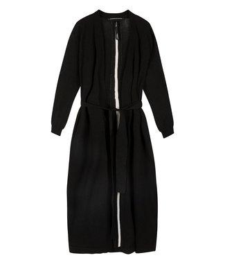 10Days Long cardigan zwart 20-651-0203