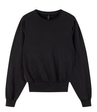 10Days Butterfly sweater zwart 20-807-0203