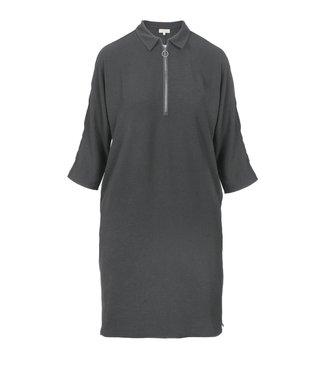 Zusss Sportief jurkje grijs
