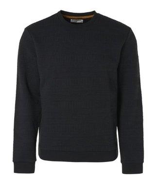 No Excess Sweater Crewneck Fancy Jacquard black 97100718