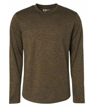 No Excess T-Shirt Crewneck Long Sleeve Stretch gold 97120701