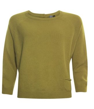 Poools Sweater pocket groen 033184