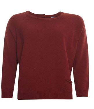 Poools Sweater pocket rood 033184