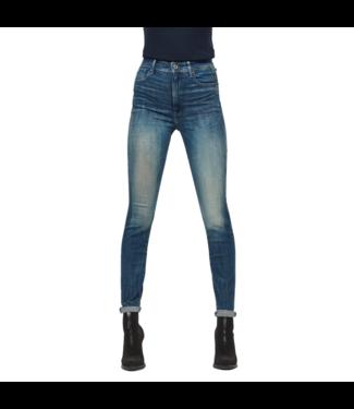 G-Star Kafey ultra high skinny wmn blauw D15578-C296-B817