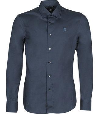 G-Star Dressed super slim shirt blauw D17026-C271-4213