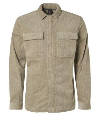 No Excess Shirt Long Sleeve Overshirt Corduro yellow Print 97410807
