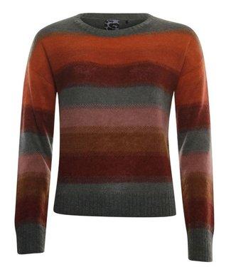 Poools Sweater Striped rood 033147