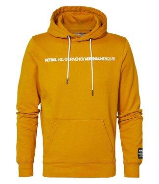 Petrol Industries Sweater hooded geel M-3000-SWH341