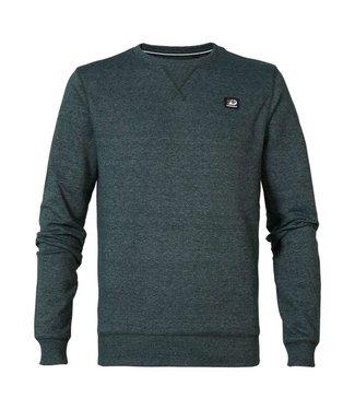 Petrol Industries Sweater r-neck groen M-3000-SWR308