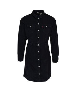 Levi's Ellie denim dress zwart 38950-0000