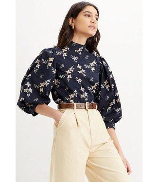 Levi's Posey blouse antraciet 22715-0000