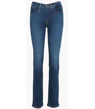 Levi's 724 High rise straight blauw 18883-0104