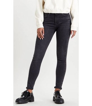 Levi's 720 High rise super skinny antraciet 52797-0185