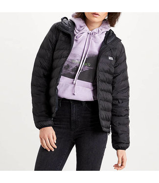 Levi's Pandora packable jacket zwart 26858-0002