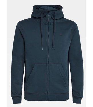 G-Star Premium core zip hooded sweater blauw D16122-C235-862