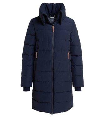 Moscow Slavania coat donkerblauw MFW20-03-08