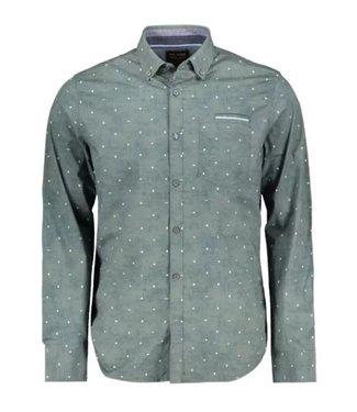 PME Legend Long Sleeve Shirt Poplin stretch a Urban Chic PSI205226