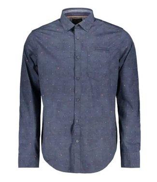 PME Legend Long Sleeve Shirt Poplin stretch a Night Sky PSI205226