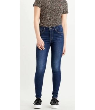 Levi's 720 High rise superskinny blauw 52797-0191