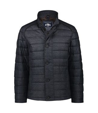 State of Art Jacket Checked - donkerblauw 785-20614-5900