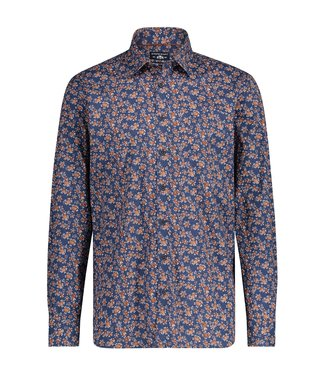 State of Art Shirt Printed Pop brique 214-20240-2959