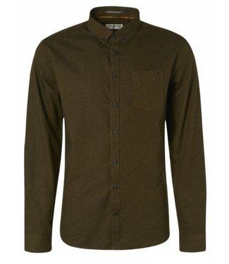 No Excess Shirt Long Sleeve Flannel moss 97410818