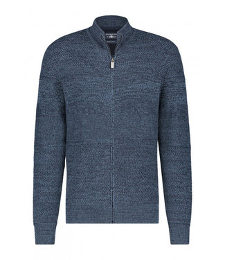 State of Art Cardigan Plain - donkerblauw 161-20140-5956