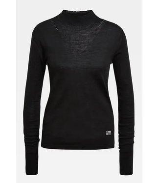 G-Star Stokyr turtle slim knit zwart D17703-B692-6484