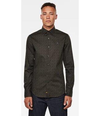 G-Star Dressed super slim shirt l/s groen D17559-C289-B805