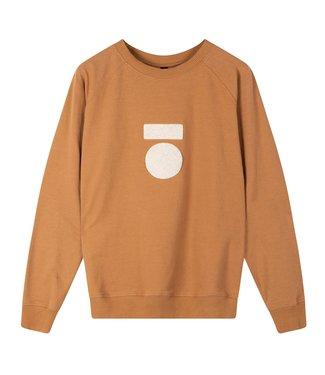 10Days Crew neck sweater bruin 20-808-0203