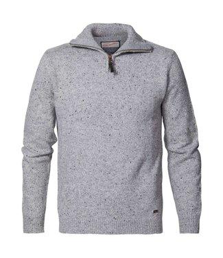 Petrol Industries Knitwear collar grijs M-3000KWC242