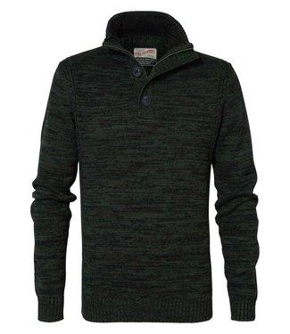 Petrol Industries Knitwear collar groen M-3000-KWC206