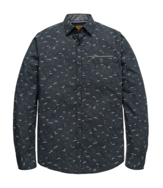 PME Legend Long Sleeve Shirt Poplin Night Sky PSI206225